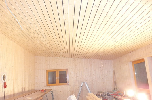 Holzdecke Nordische Fichte Akustikdecke