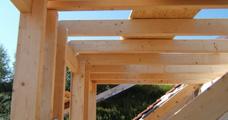 Dachgaube oder Carport - hochwertige Zimmererarbeit
