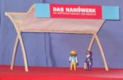 Das Handwerk, die Wirtschaftsmacht von Nebenan - Modell des Messestandes für die Badenmesse Freiburg von Werner Böcherer