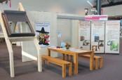 Barrierefreies Bauen war Thema auf der Badenmesse Freiburg. Die Zimmerinnung Emmendingen automatisch öffnenden Türen und Fenstern