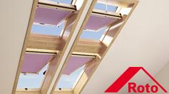 Wohndachfenster und Zubehör von Roto